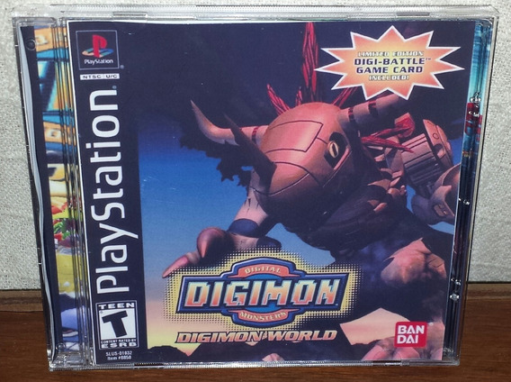 Digimon World Patch Ps1,ps2 E Ps3