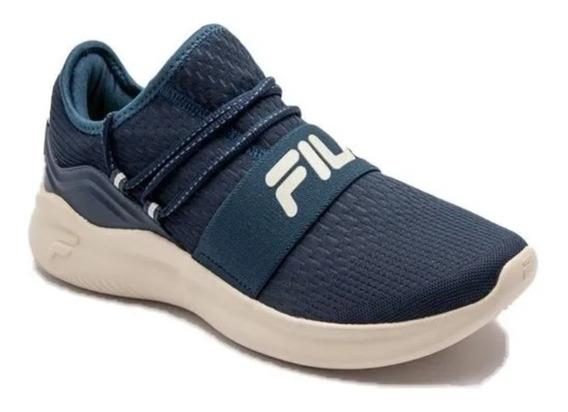 Zapatillas Fila Training Trend Ajus Elastico Plant Acolchada