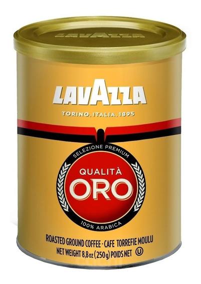 Cafe Lavazza Qualita Oro Lata 250gr De Maquina Molido Int. 5