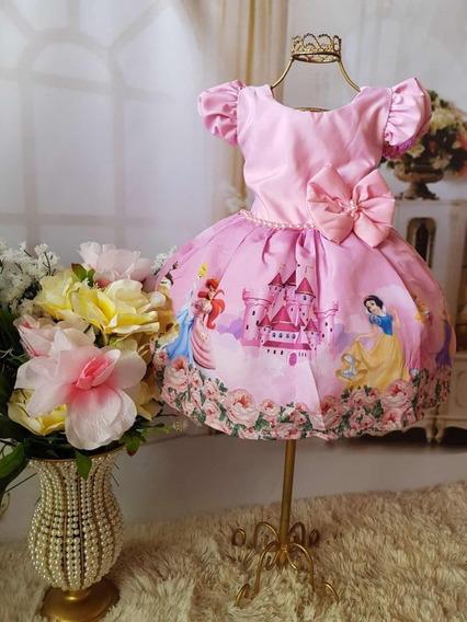 Vestido Das Princesas Disney