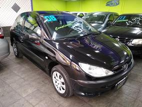Peugeot 206 Sensation 1.4 8v Flex 2008 - Completo (menos Ar)