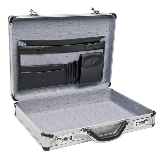 Envió Gratis Portafolios De Aluminio