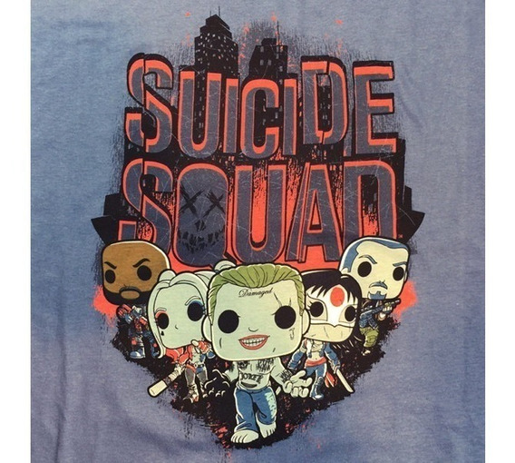 Suicide Squad Playera Funko Pop