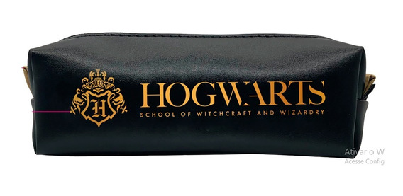 Mini Necessaire Hogwarts Harry Potter Escola Magia Bruxaria
