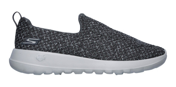 Skechers Go Walk Max Slip On Gris Casual Caminar 27 Mx