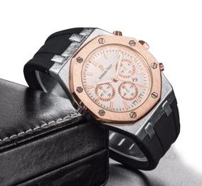 Relógio Ap Audemars Piguet Royal Oak N1453g Gold Rose + Caix