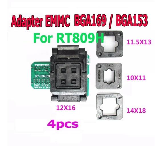 Bga169 Bga153 Bga169-01 Soquete Adaptador Programador Rt809h