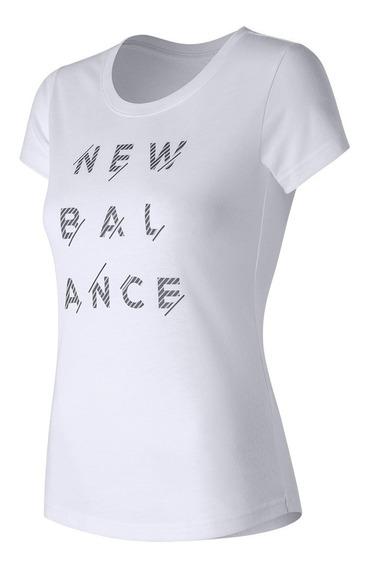 Remera New Balance Sport Style Tee Wt71568wt