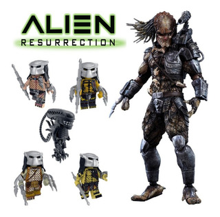 Alien Vs Depredador Muñecos Set Por 8 - Fair Play Toys