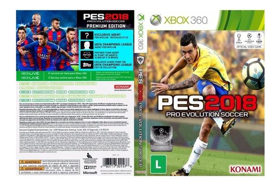 Pes 18 Pra Xbox 360 Destravado Lt 3.0 (lista Na Descrição)