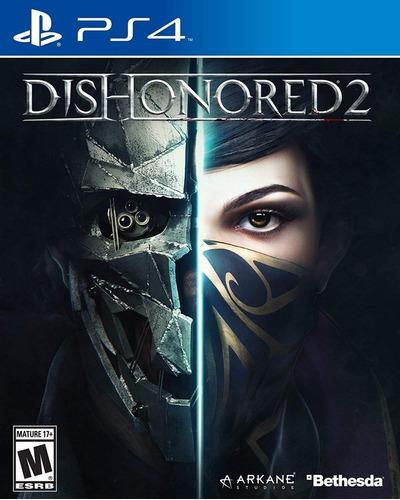 Imagen 1 de 10 de Dishonored 2 Playstation 4 Ps4 Juego Fisico Sellado Original