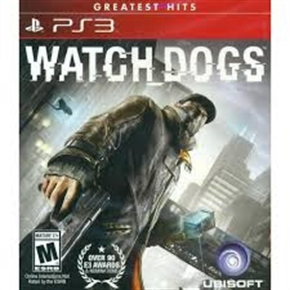 Watch Dogs: Greatest Hits - Ps3 Lacrado