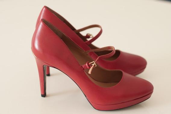 Zapatos Calvin Klein Rojos - Originales, Nuevos!