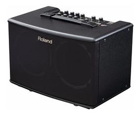 Cubo Amplificador Violao Roland Chorus Ac40 Chorus Microf