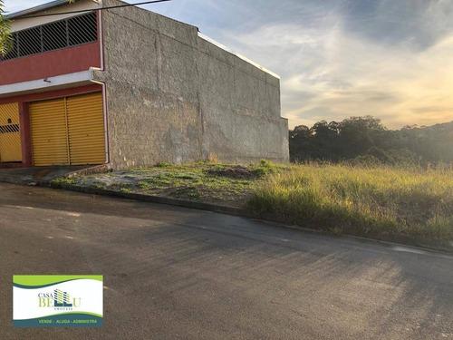 Imagem 1 de 4 de Terreno À Venda, 154 M² Por R$ 110.000 - Residencial Santo Antônio - Franco Da Rocha/sp - Te0075