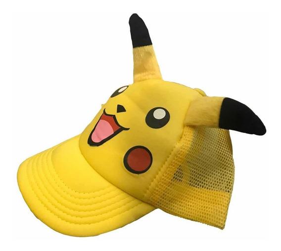 Gorra Pikachu Infantil Pokemon Detective Pikachu