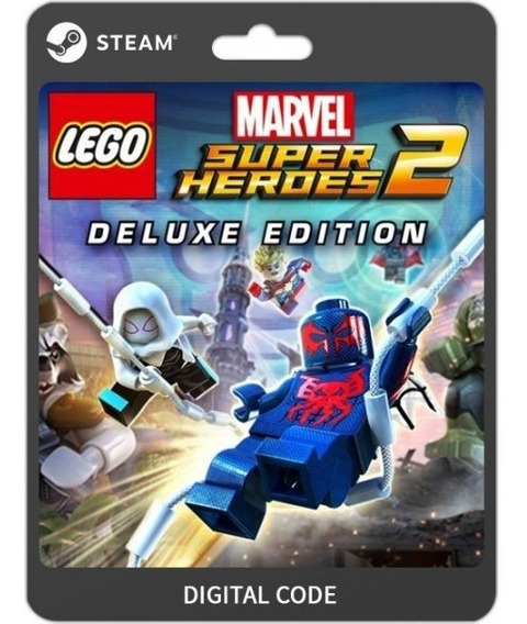 Lego Marvel Super Heroes 2 Deluxe - Pc Pt-br Chave Steam Key