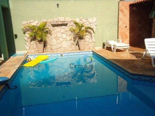 Casa Com 4 Dormitórios À Venda, 300 M² Por R$ 650.000,00 - Residencial E Comercial Palmares - Ribeirão Preto/sp - Ca1442