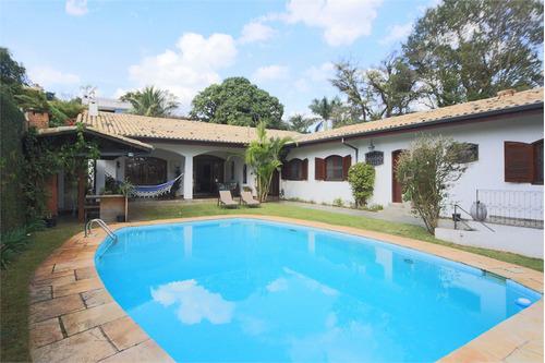 Imagem 1 de 30 de Casa Térrea Em Localização Nobre - Reo124634
