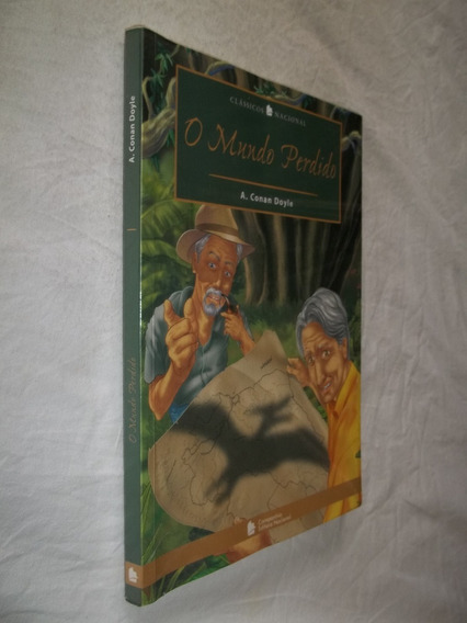 Livro - O Mundo Perdido - Clássicos Nacional - A. Conan D.