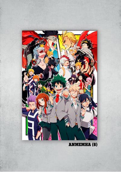 Cuadros Anime My Hero Acad. Xl 33x48 (mha (8))