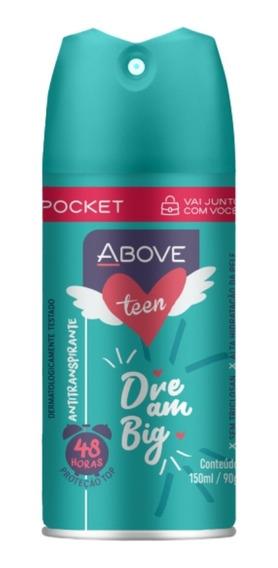 Desodorante Ant. Above Pocket Teen Dream Big 100ml Baston