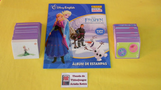 10 Estampas A Escoger Del Album Frozen Español Ingles Panini