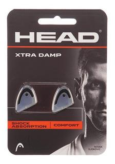 Antivibradores Head Xtra Damp Pack X2 Original Transparentes