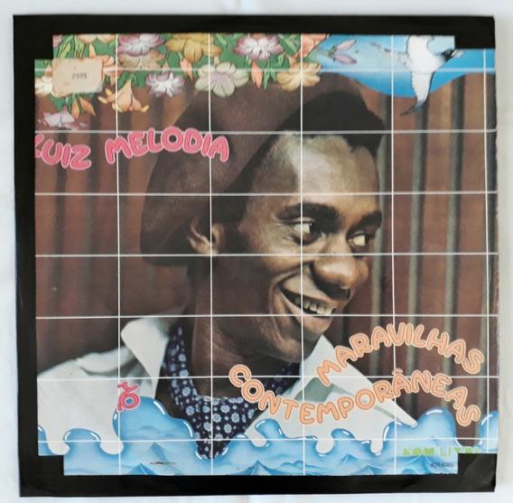 Luiz Melodia Maravilhas Contemporâneas 1976 Lp Vinil