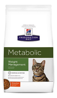 Alimento Para Gato -hills Felino Metabolic Adulto 4 Lb