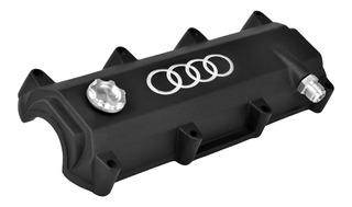 Tapa De Valvulas Collino Motor Vw Gol Ap Logo Audi Aluminio
