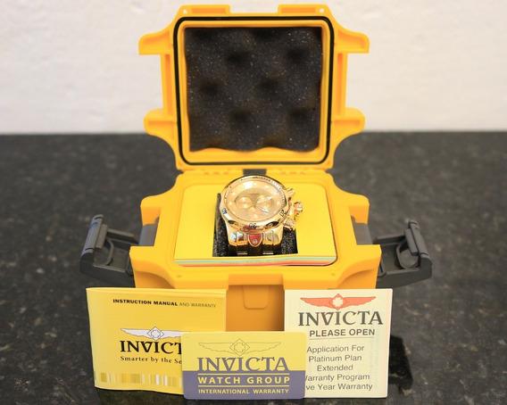 Relogio Invicta 14503 Reserve Venom Dourado(original)