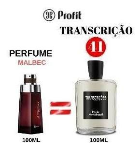 Perfume Masculino Transcrição 41 Ref. Ofativa Malbeck