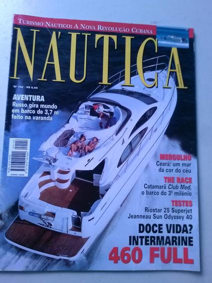 Revista - Náutica 142 - Mergulho - The Race - Catamarã