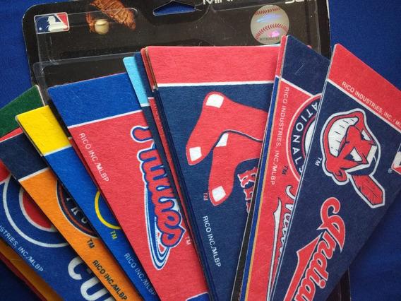 Mini Banderínes Beisbol Mlb Grandes Ligas - Varios Equipos
