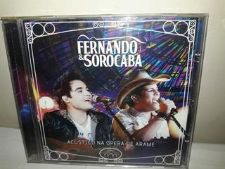 Cd Fernando E Sorocaba Acústico Na Opera Ja