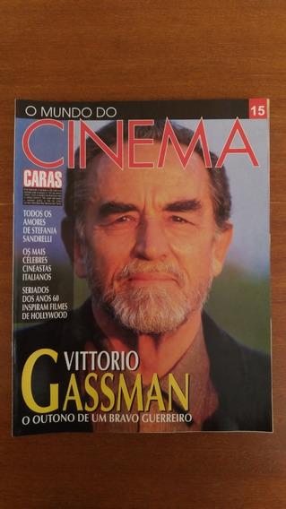 Revista O Mundo Do Cinema N° 15 Vittorio Gassman Caras