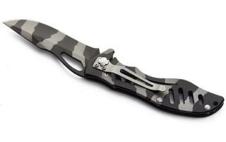 Cuchillo Corta Pluma Alva Northland Camuflado
