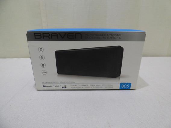 Caixa De Som Portátil Braven 805 Wireless Hd Bluetooth Preta