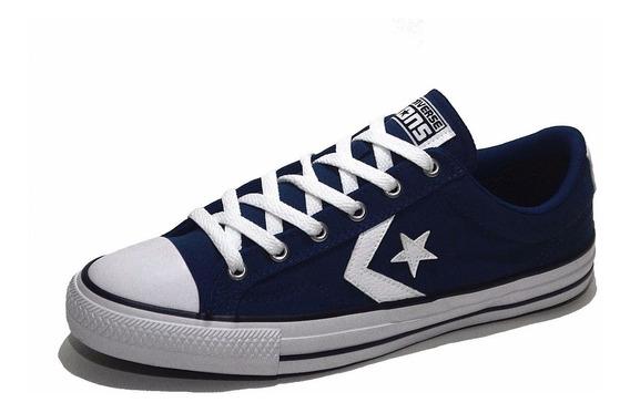 Converse Estrella Star Player Azul Marino Urbanas 157008c