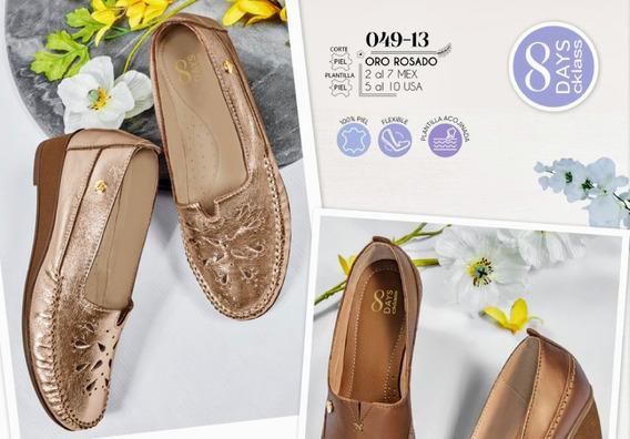 Zapato Oro Rosado 049-13 Cklass Primavera-verano 2020