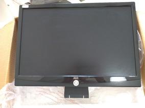 Monitor Aoc Lcd Semi-novo 19