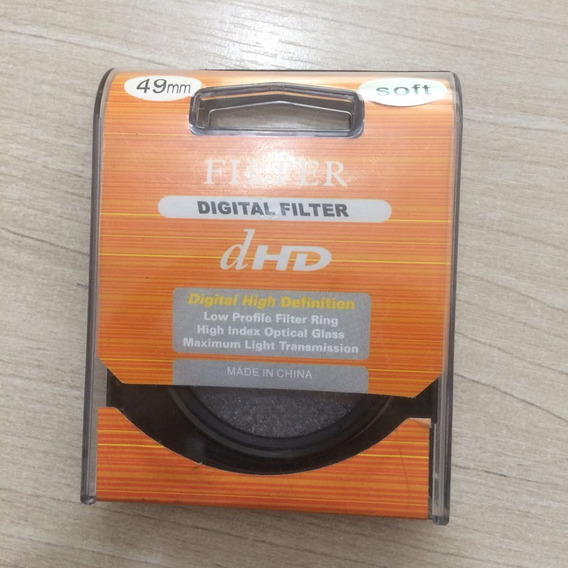 Filtro Soft Dhd 49mm Focus Difusor