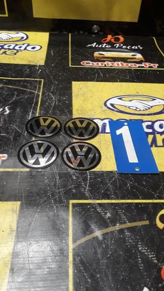 Jogo Adesivo Emblema Calota Volkswagen Roda