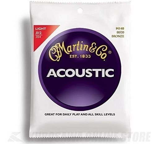 Cuerdas Martin Acustica M 140 012-054