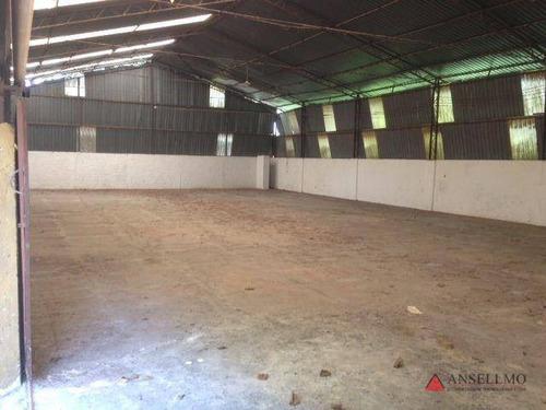 Imagem 1 de 18 de Galpão, 3000 M² - Venda Por R$ 3.180.000,00 Ou Aluguel Por R$ 16.000,00/mês - Jardim Da Represa - São Bernardo Do Campo/sp - Ga0148