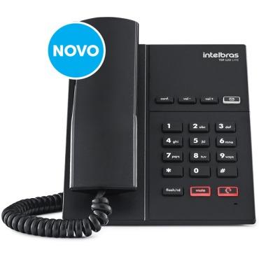Telefone Intelbras Ip Protoc. Sip2.0 1conta Voip Tip125 Lite