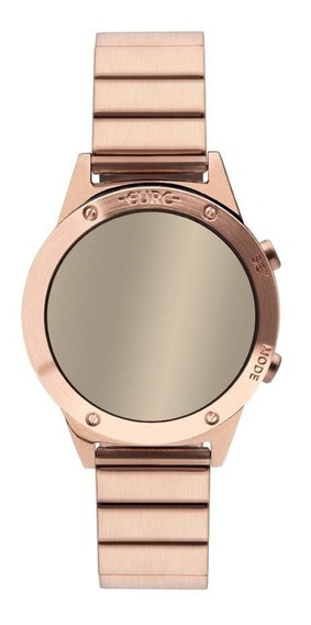Relógio Euro Feminino Ref: Eujhs31bac/4d Digital Mirror Rosé