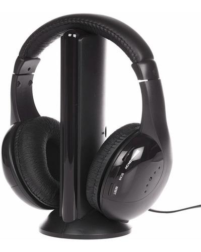 Auricular Inalámbrico Stereo 5 En 1 Radio Fm Micrófono Tv ®