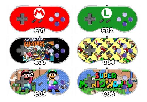 Skins Protector Para Controles Snes Super Nintendo Vinilo